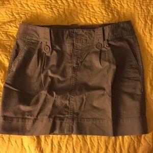 Olive Color Khaki Skirt